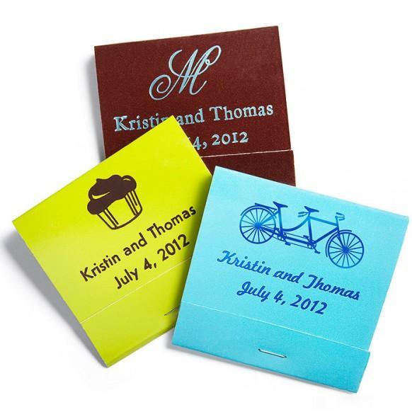 Wedding Gifts Personalized Matchbooks 1182005 Weddbook