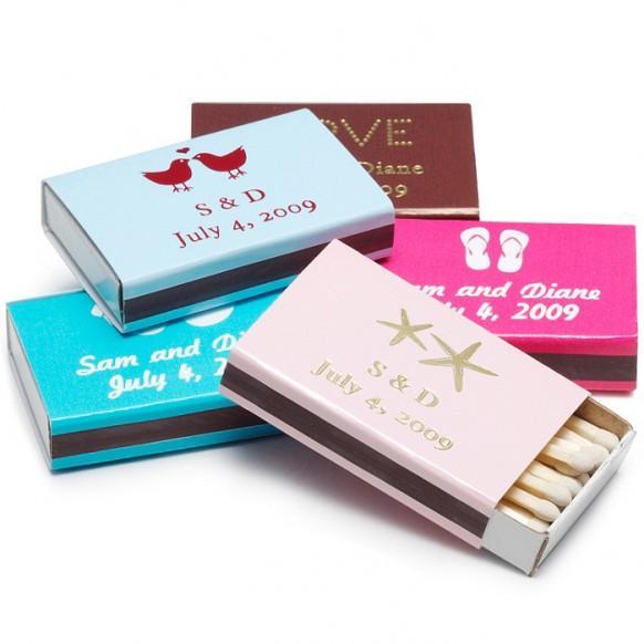 cadeaux de mariage boites dallumettes personnalises 1182008 weddbook - Allumettes Personnalises Mariage