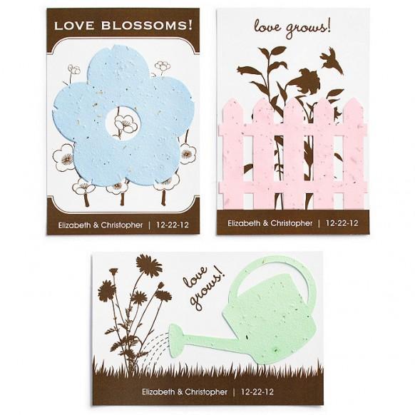 Wedding Gift Ideas To Post : Wedding GiftsSeed FavorsPost Card #1182024Weddbook