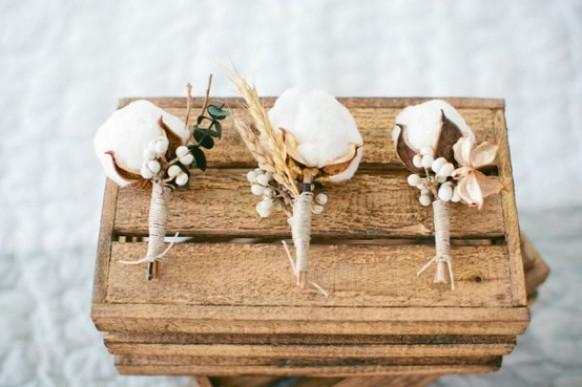 wedding photo - Boutonnieres For The Boys