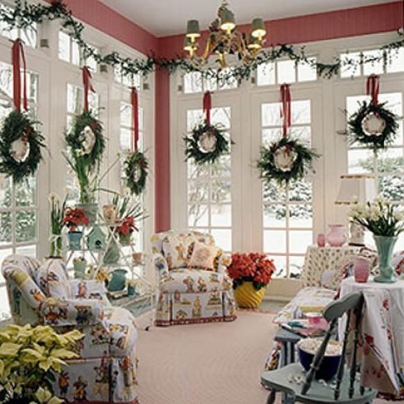 Украшаем дом к рождеству своими руками