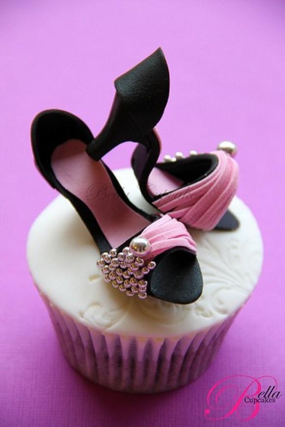 Barbie Shoes Cupcake Cake Ideas And Designs