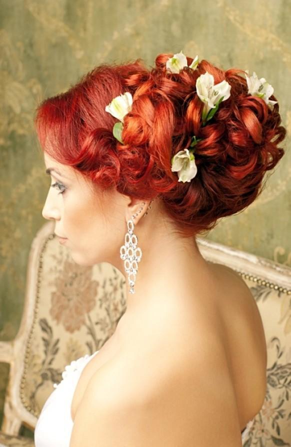 Собрать цветок для волос