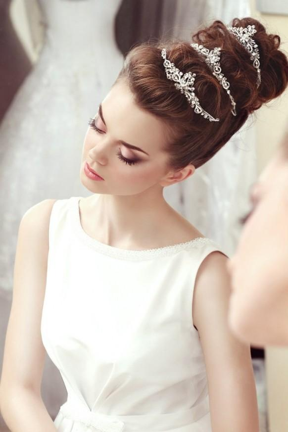 Unique Wedding Hairstyles  Updo  Part 2  Belle The Magazine