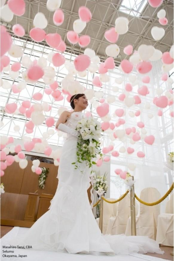 Photo wedding balloons say i do 1969068 weddbook - Decoration mariage ballon ...