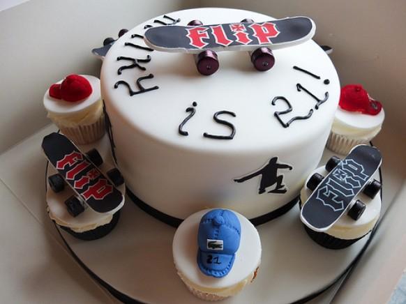 Make A Roller Skate Cake