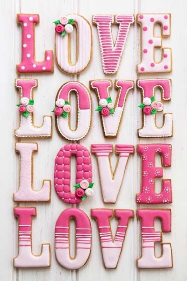 Cookie Decorating Ideas Wedding Love Valentines Etc
