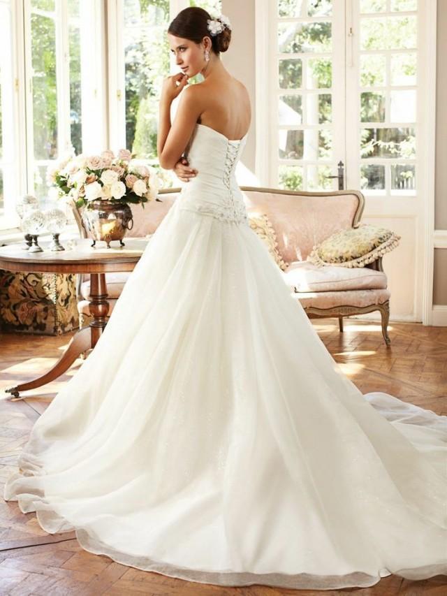 Simple Mermaid Custom Made Wedding Dress Bridal Gown Size 2 4 6 8 10 12 14 16 2070219