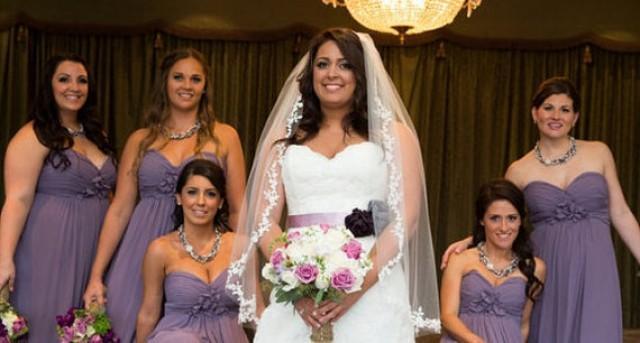 Lavender/Lilac Purple And White Wedding Sash, Purple Bridal Sash ...