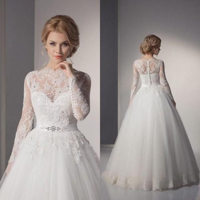 NEW White/Ivory Lace Wedding Dress Bridal Gown Custom Size 8 10 12 ...