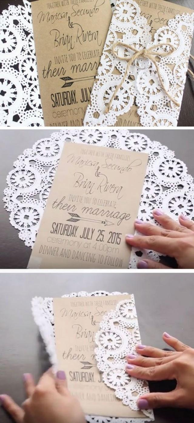 diy 19 easy to make wedding invitation ideas 2493359 weddbook
