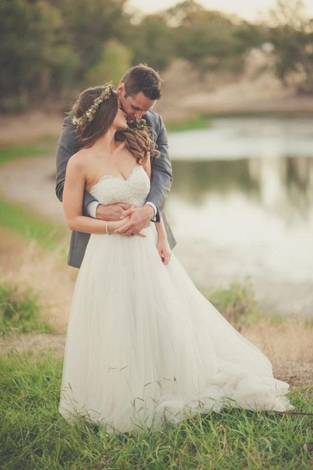 wedding photo - Natural Green And Grey Wedding In California