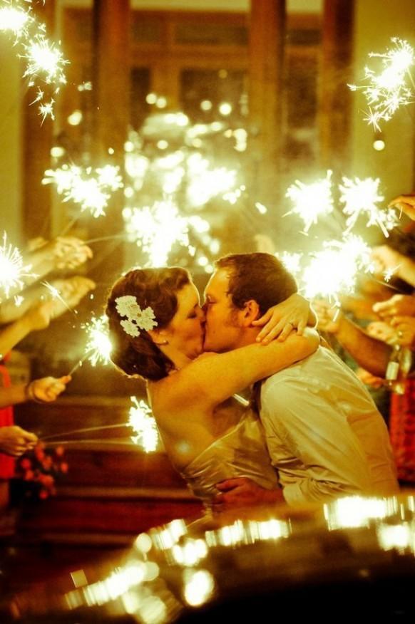 stelle luminose per gli sposi