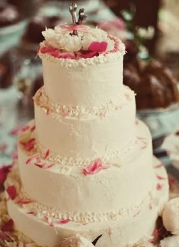 Buttercream Wedding Cakes #796804 - Weddbook