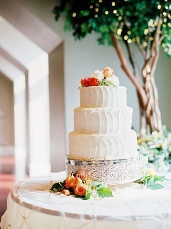 Buttercream Wedding Cakes #796806 - Weddbook