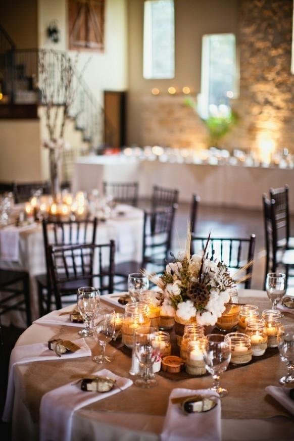 Rustic Wedding Reception Decor 797367