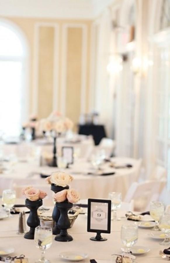 Centerpieces modern wedding  weddbook