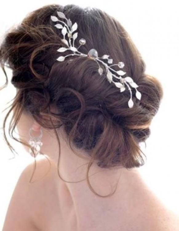Bun Hair Pieces For Wedding Side Bun Wedding Hair