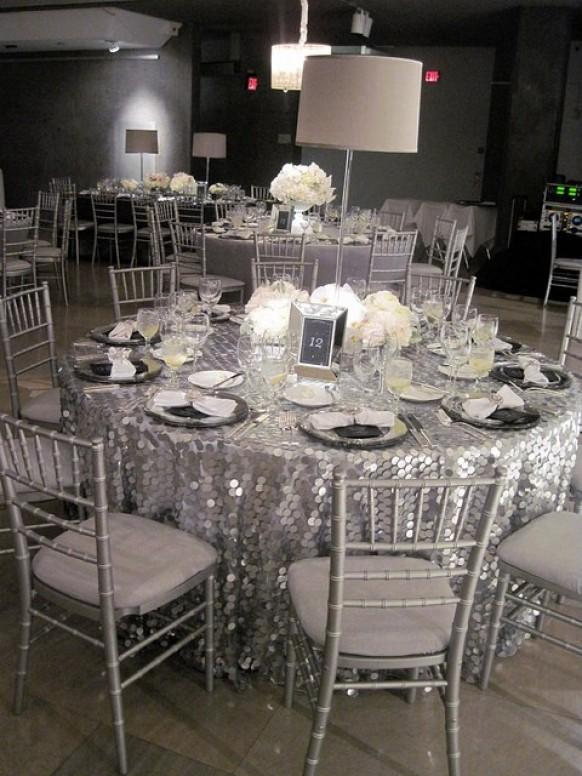 Silver wedding silver wedding color palettes 798757 - Idees deco table noel ...