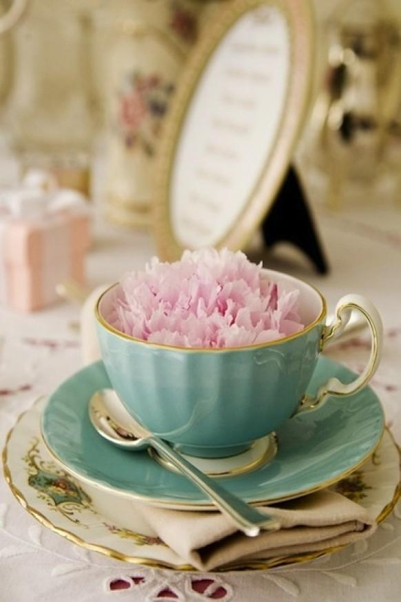 Teacup hire wedding