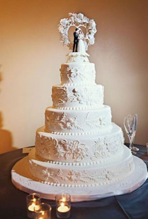 wedding cakes the wedding cake 801012 weddbook. Black Bedroom Furniture Sets. Home Design Ideas