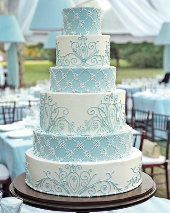 wedding photo - Fondant Wedding Cakes ♥ Wedding Cake Design
