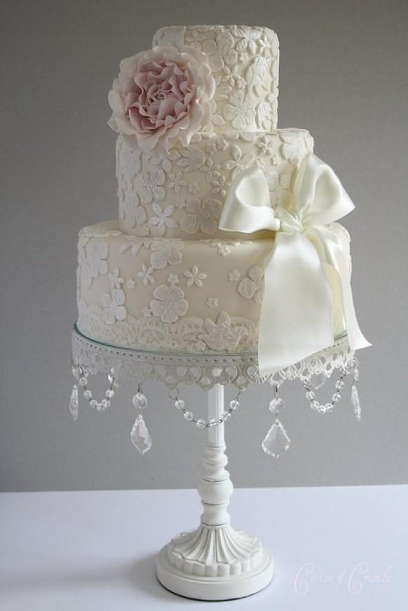 Wedding Cake Designs Vintage : Fondant Wedding Cakes   Vintage Wedding Cake #802687 ...