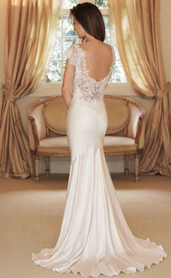 wedding photo - Simple & Chic Custom Designed Kleid ♥ Special Design Gown