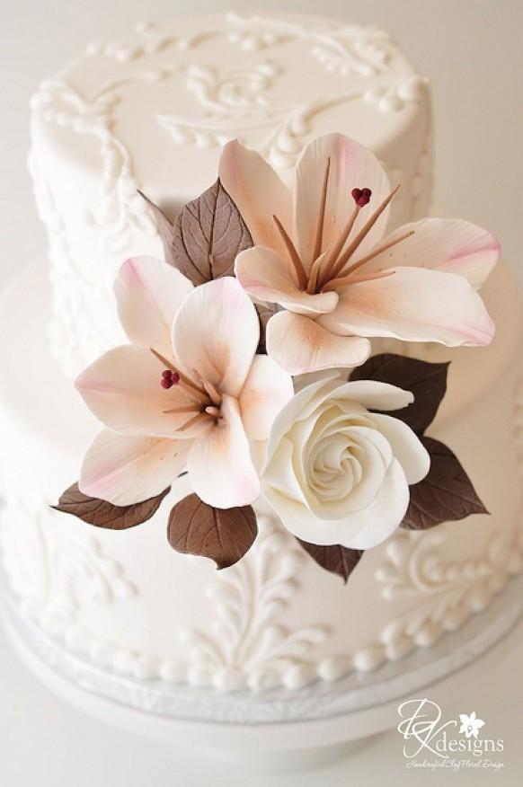 Gâteaux De Mariage Spéciaux ♥ Cake Design Wedding #805045 ...