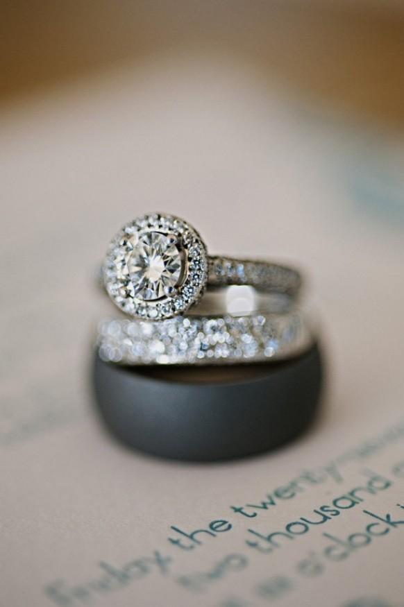Professional Diamond Wedding Ring Photography Gorgeous Ring Shot 890203