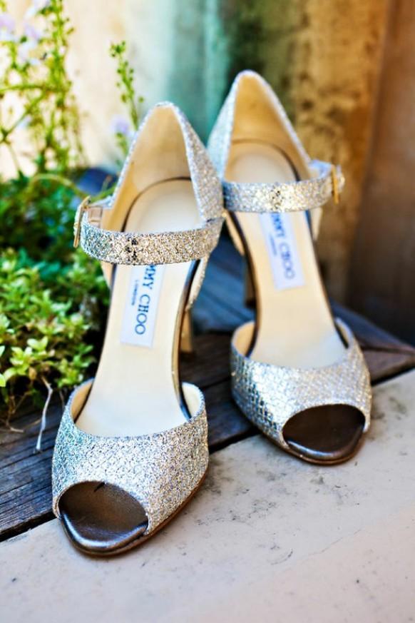 wedding photo - الكعوب العالية الزفاف الفضة