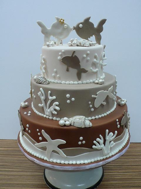 Fishing wedding theme cake ideas pinterest for Fishing themed cakes