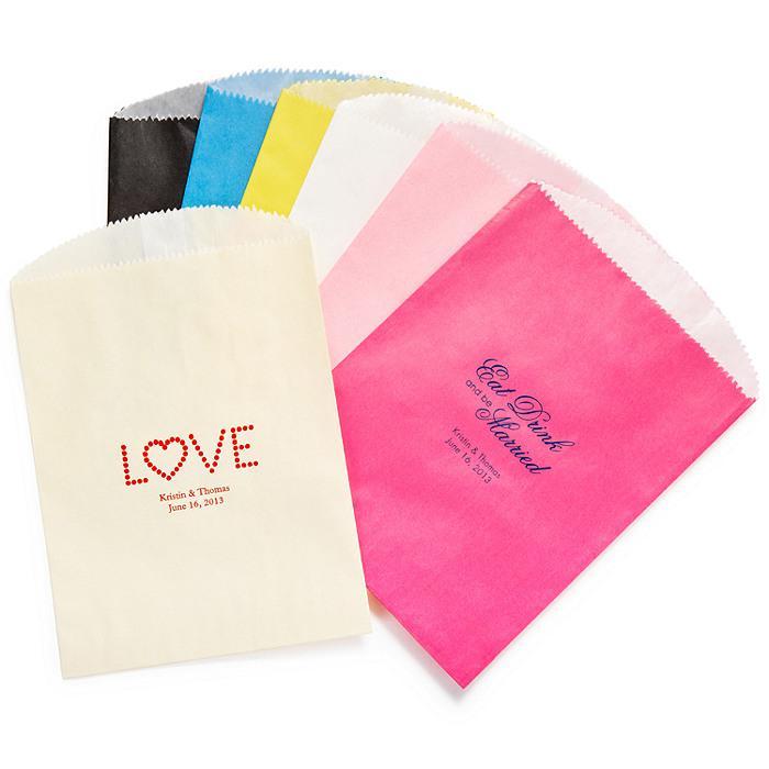 Wedding Gifts - Personalized Gourmet Favor Bag #1181984 - Weddbook