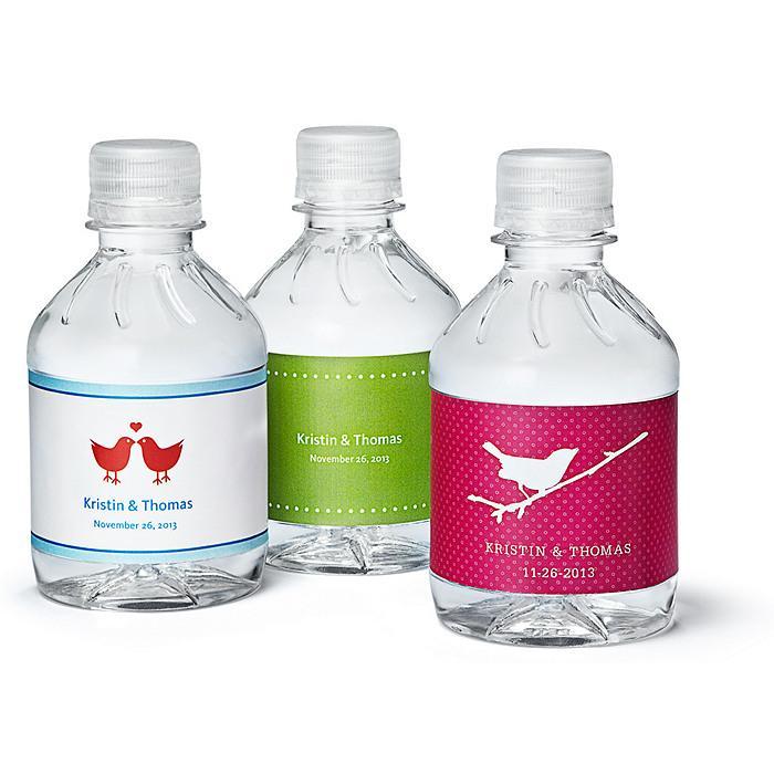 Gut gemocht Cadeaux De Mariage - Bouteilles D'eau Personnalisées Mini #1182035  AR12