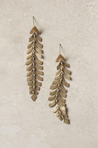 زفاف - Southbound Plume Earrings - B
