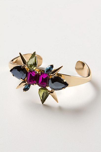 Wedding - Crystal Collision Bracelet - B