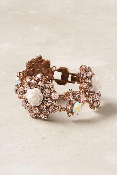 Wedding - Bantam Rose Bracelet - B