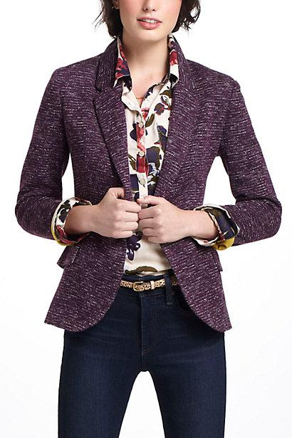 Wedding - Dashes Knit Blazer - B