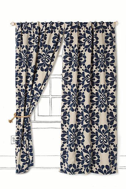 زفاف - Coqo Floral Curtain - B