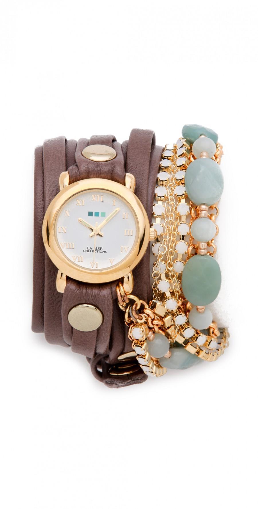 Wedding - Venetian Stones Wrap Watch