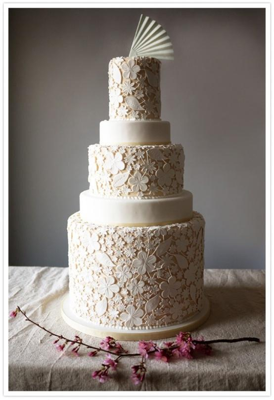 Hochzeitstorten Modern Pictures to pin on Pinterest
