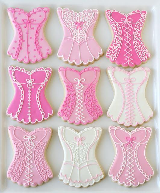 """Свадьба - Розовое Белье и Белье """" Cookies """" ♥ Bachelorette Party Cookies"""