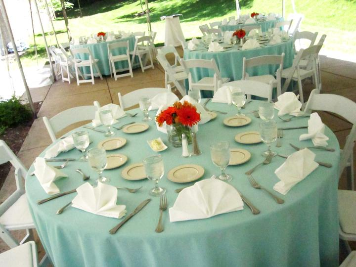 Table settings decoration blue white place setting reception & Table Settings Decoration Blue White Place Setting Reception ...