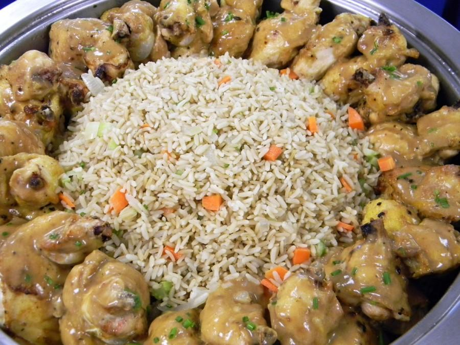 Astonishing Rice Plate Catering Chicken Food Entree Buffet Download Free Architecture Designs Scobabritishbridgeorg