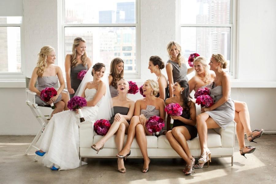 Brautjungfern Kleider ♥ Professionelle Bridesmaids Fotos #1883227 ...