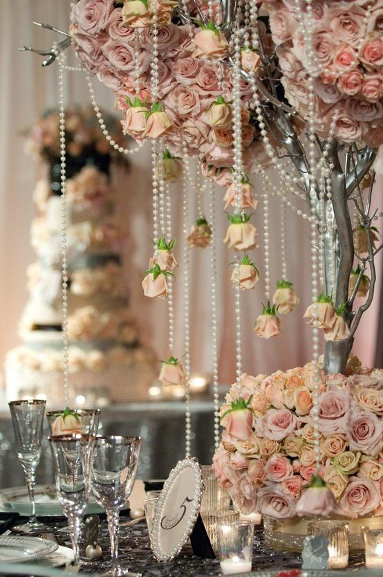 Hochzeit - Fairytales Hochzeit Centerpiece ♥ Dream Wedding Decoration