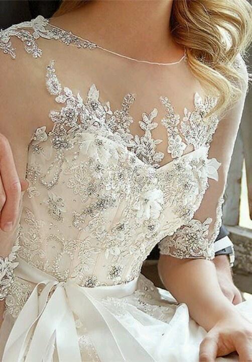 Hochzeitskleider - Brautkleid Ideen #1919590 - Weddbook