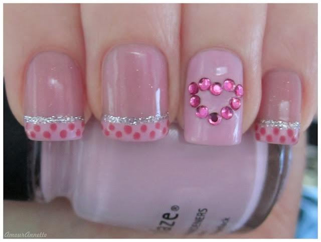 Wedding - Nails On Valentine's Day
