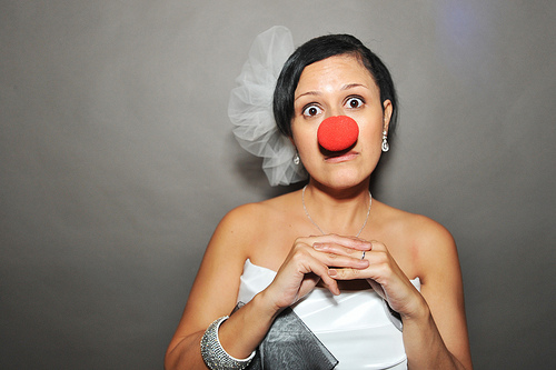 Mariage - Natalia Le nez rouge mariée