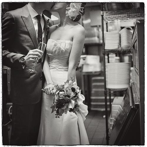 Wedding - K I T C H E N. K I S S E S
